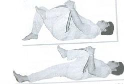 کشش عضلات خم کننده ران