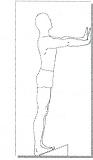 کشش عضلات پشت ساق پا